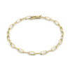 Signature Knife Edge Link Chain Anklet