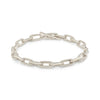 Alternating Oval Link Bracelet
