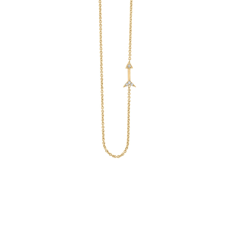 Petite Arrow Necklace