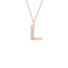 "Large Deco Initial 18"" Necklace"
