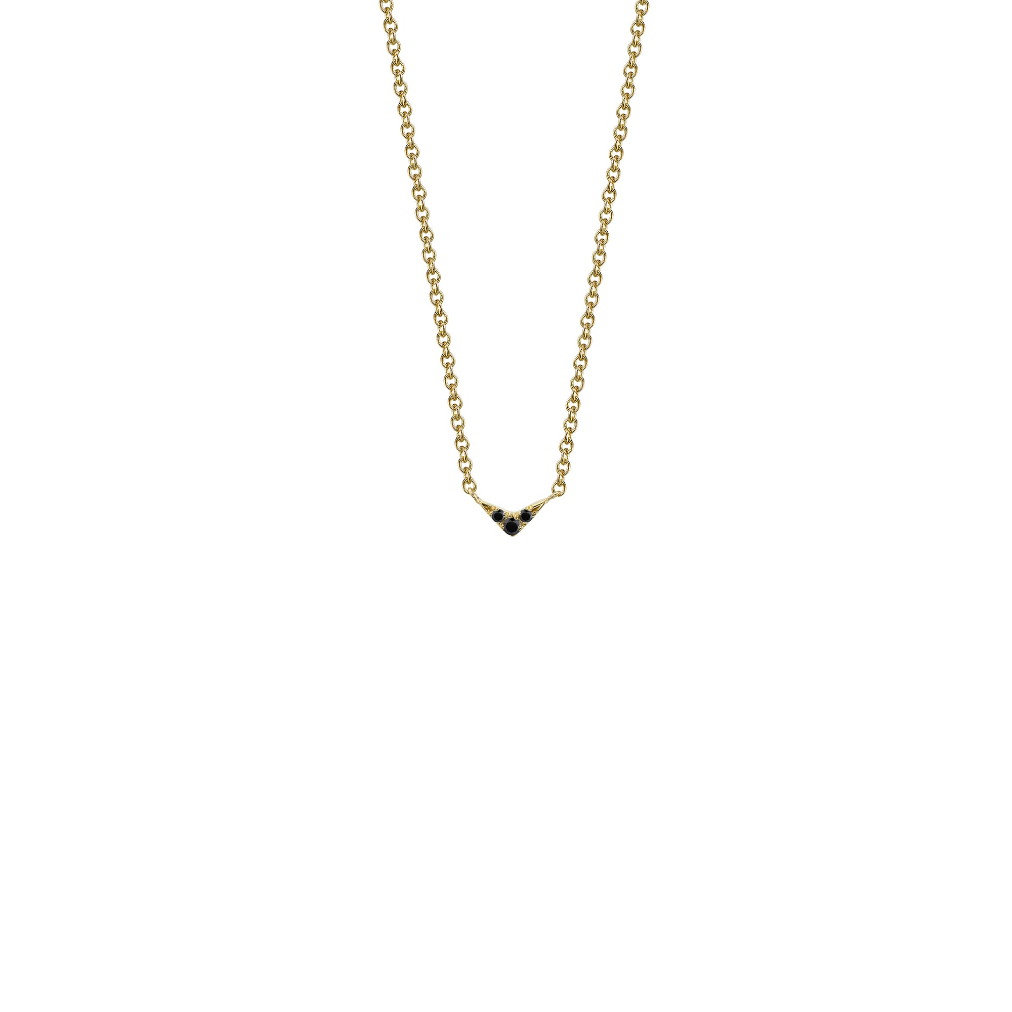 Pavé V Necklace