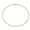 Graduated Choker with Pave Center