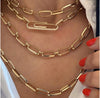 Flat Link Knife Edge Choker