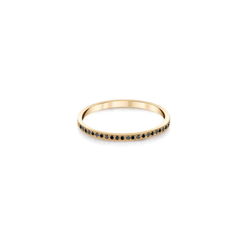 Half Pave Stackable Ring