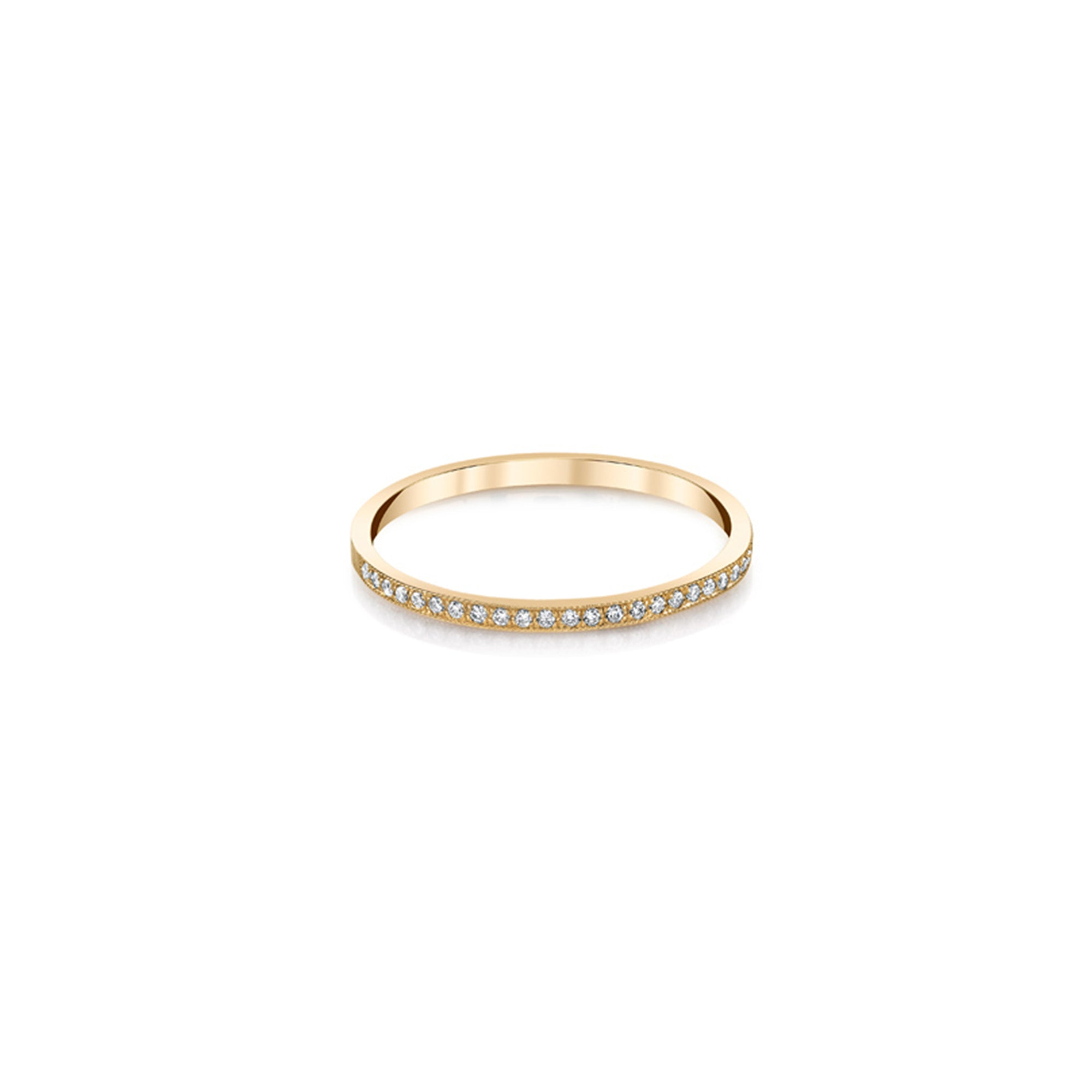 Pave Stackable Ring