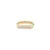 Carre Knife Edge Flat Top Ring