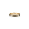 Three Row Pave Cigar Band