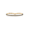 Othello Knife Edge Double Finger Ring