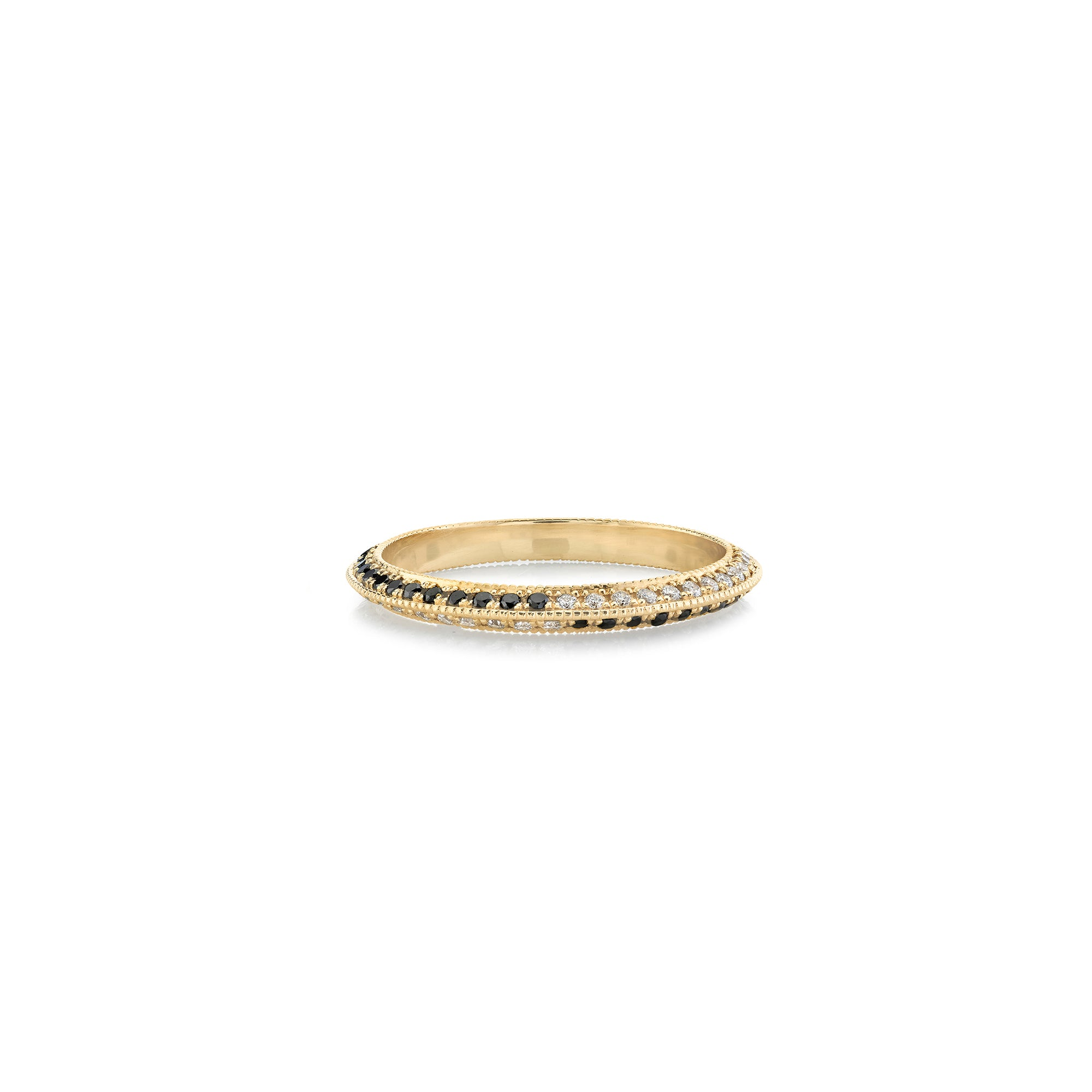 Othello Split Knife Edge Ring