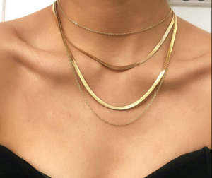 The Meredith Herringbone Chain