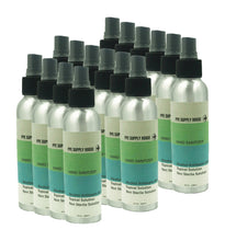 Load image into Gallery viewer, LIQUID HAND SANITIZER 16 - 4oz REFILLABLE ALUMINUM BOTTLES (1 Case Pack) - IN STOCK