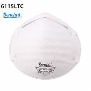 N95 MASK BENEHAL MS6115 NIOSH APPROVED (20 PACK)