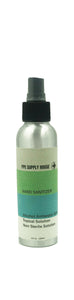 LIQUID HAND SANITIZER 16 - 4oz REFILLABLE ALUMINUM BOTTLES (1 Case Pack) - IN STOCK