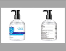 Load image into Gallery viewer, GEL HAND SANITIZER 17oz LARGE BOTTLES (500ml) 75% ETHANOL ALCOHOL (as low as $6.90/bottle)