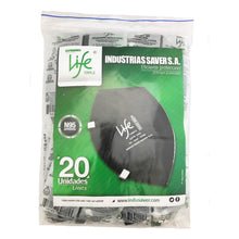 Load image into Gallery viewer, N95 MASK LIFE 1095-2 BLACK COLOR (20 PACK)