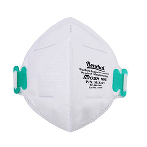 N95 MASK BENEHAL MS8225 NIOSH APPROVED (20 PACK) - $11.50/Mask