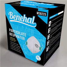 Load image into Gallery viewer, N95 MASK BENEHAL MS8225 NIOSH APPROVED (20 PACK) - $11.50/Mask