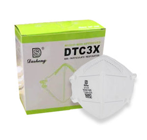 N95 MASK DASHENG DTC3X NIOSH APPROVED (20 PACK) - as low as $4.60/mask