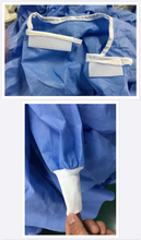 Load image into Gallery viewer, Level 3 Disposable SURGICAL GOWN Non-woven Tri-Layer SMMS  STERILE