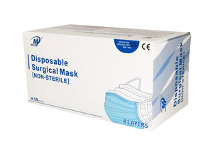Level 3 -  4 layer Earloop Medical Procedure Face Mask model YK-244  (As low as $27.95/box)