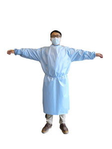 REUSABLE WASHABLE MEDICAL GOWN,  Pongee + TPU (as low as $14.95/gown)