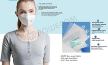 Load image into Gallery viewer, KN95 MASK - POWECOM BRAND (FDA APPROVED LIST)-  1 MASK