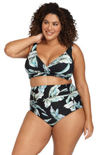 Load image into Gallery viewer, ArTeSAnDs Figaro Reversible High Waist Swim Pant
