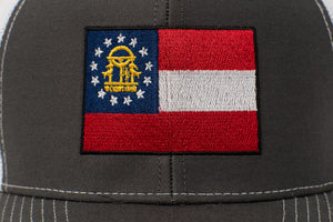 Georgia State Flag Hat