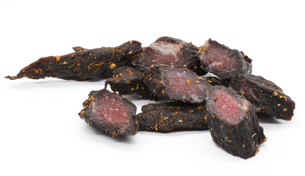 Biltong Chunks - Spicy & Hot