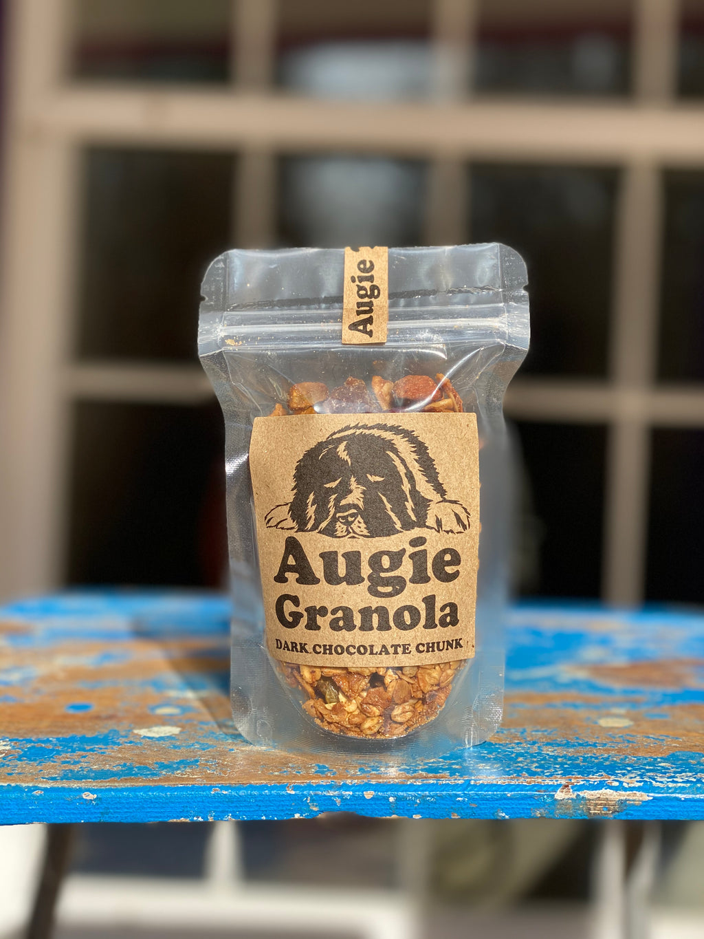 Augie treats dark chocolate chunk 3oz