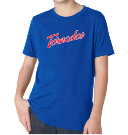 Tornados Youth Next-Level Short Sleeve Tee
