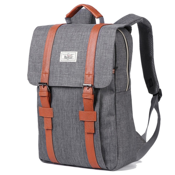 Vintage Canvas School Bag