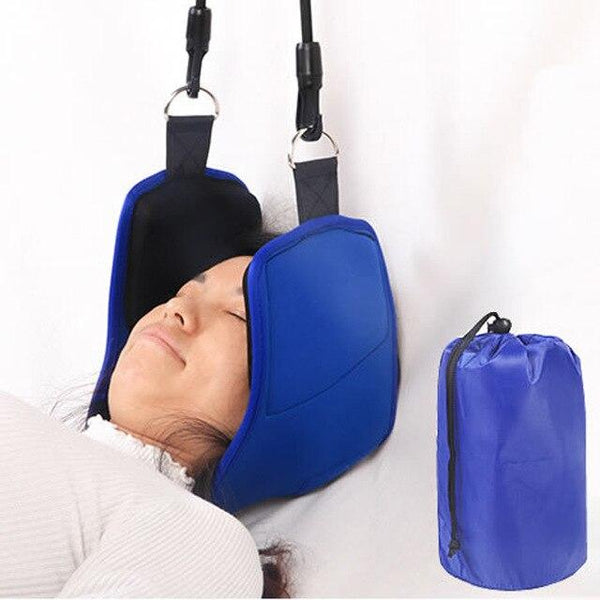 New Neck Hammock Portable Head Hammock Traction Device Neck Pain Relief Hammock Massager Nap Pillow Neck Posture Alignment