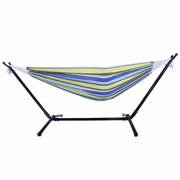 Polyester Outdoor Portable Hammock Set with Stand Dropshipping