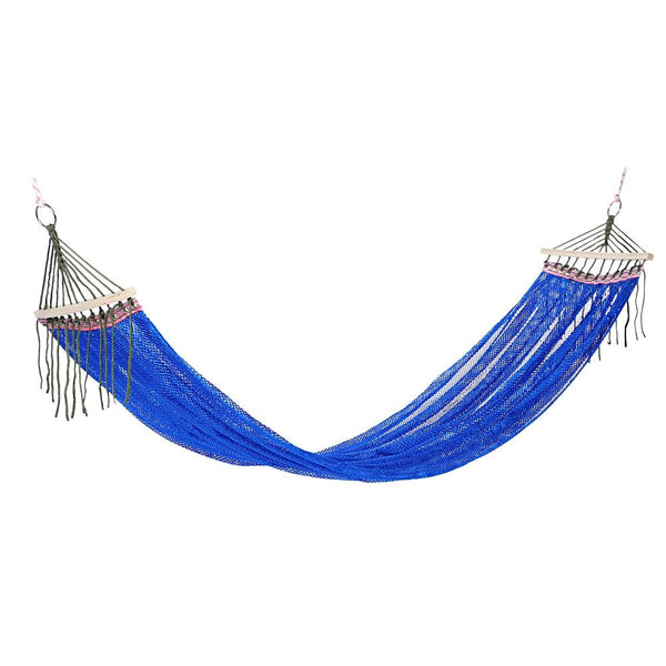 Ultralight Portable Ice Silk Anti-rollover Leisure Hammock for Camping Backpacking Traveling Beach Yard Activity