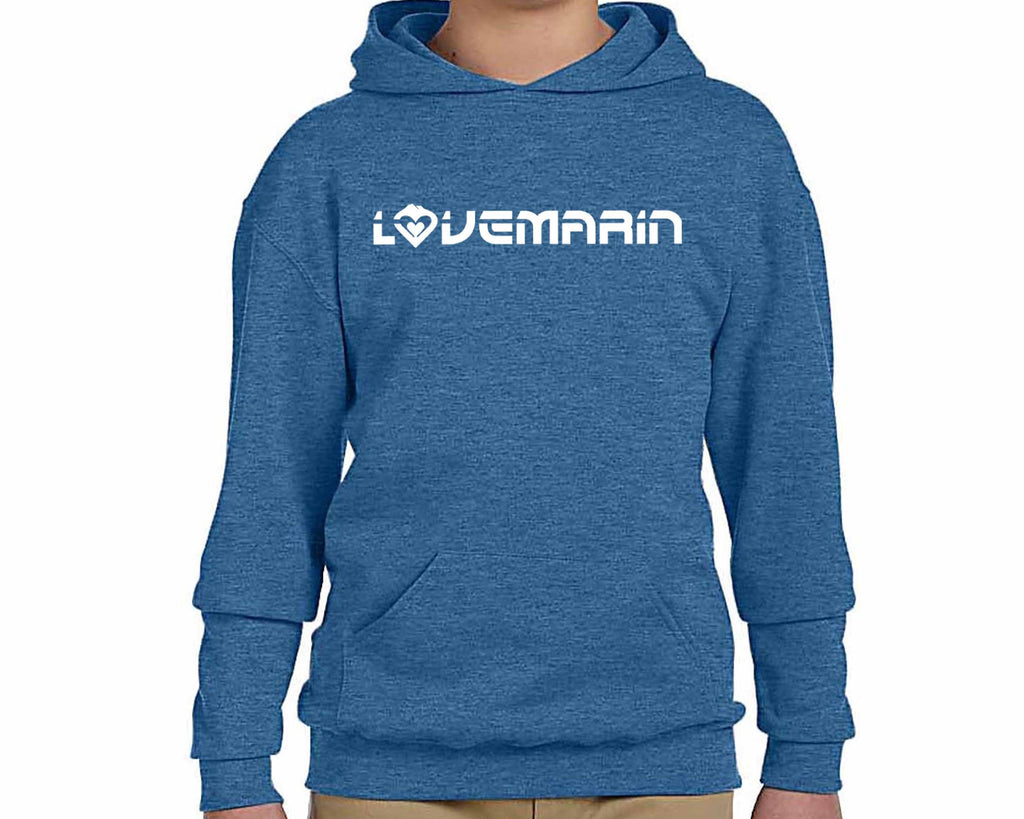 Youth - Kids' Hoodie Gray/Blue