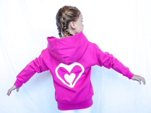 Youth - Kids' Hoodie Pink/Purple