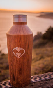 Woodgrain Bottle