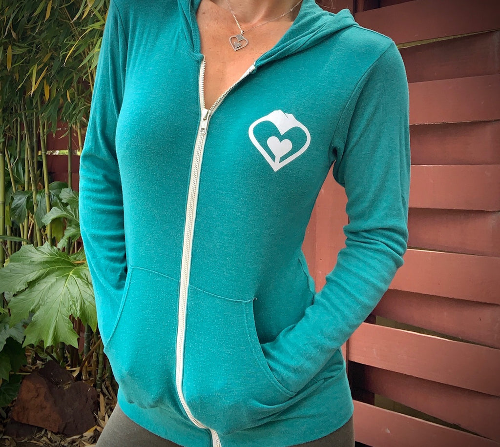 Ladies' Lightweight Zipper Hoodie