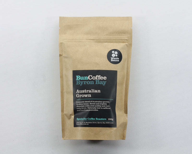 Australian Grown Coffee Beans 100g