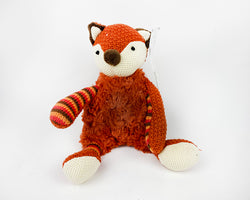 Plush Fox with Rattle - 18cm