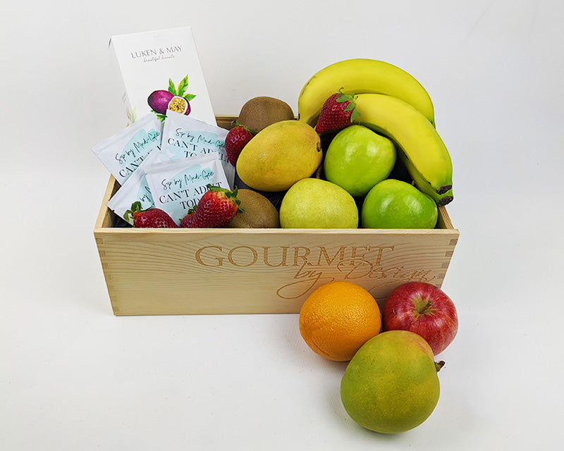 Fruit, Biscuits & Can't Adult Today Tea Hamper