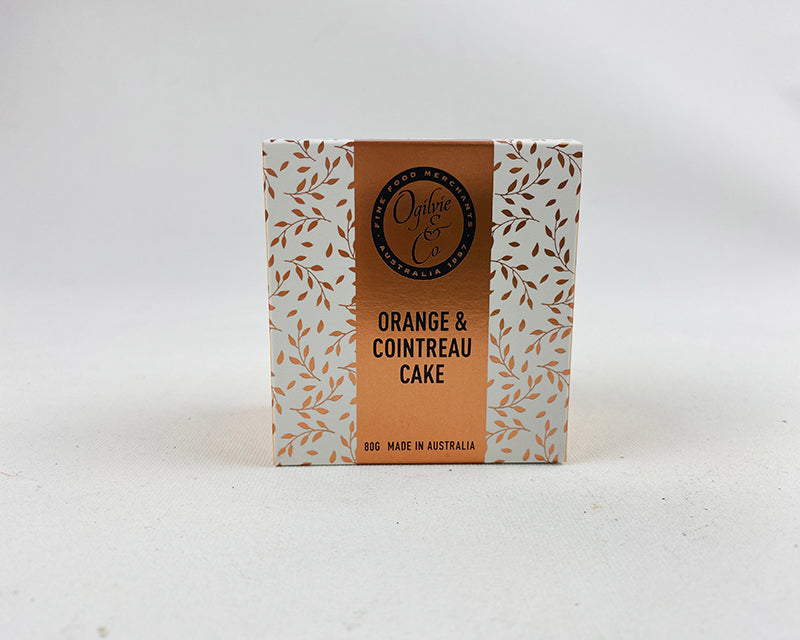 Ogilvie's Orange & Cointreau Cake - 80g