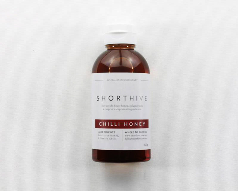 Short Hive Chilli Honey 300g