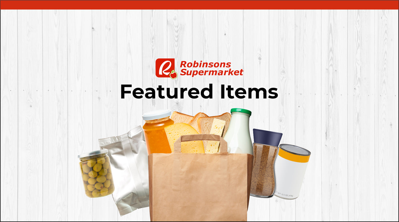 Robinsons Supermarket featured items