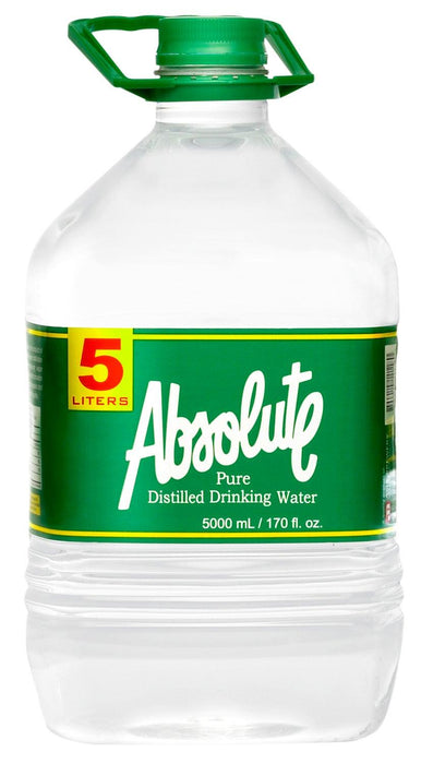 Absolute Pure Distilled Drinking Water 5000ML