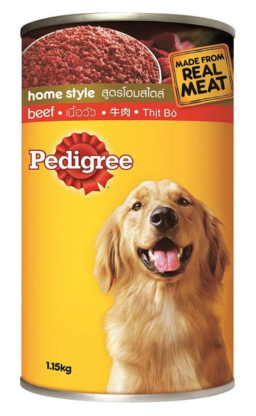 Pedigree Dog Food Beef 1.15 KG