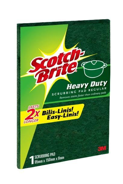 Scotch-Brite Heavy Duty Scrubbing Pad Regular