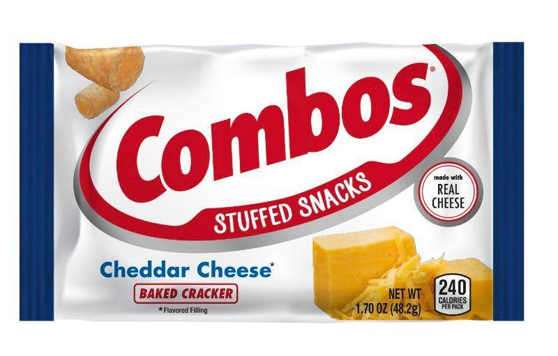 Combos Baked Snacks Cheddar Cheese Cracker 48.2G
