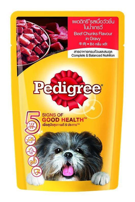 Pedigree Wet Dog Food Beef Flavor 150G